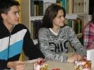 Mikołajkowe spotkanie z młodzieżą z ZSCKR
